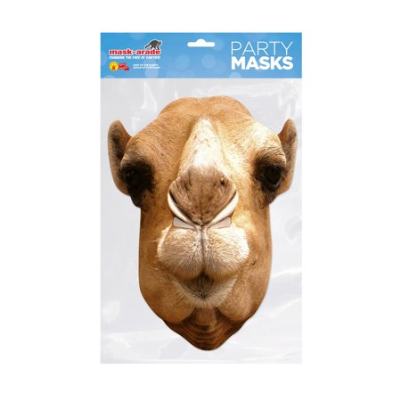 Camel Facemask – Costume Accessory (Camel Costume For Adults)