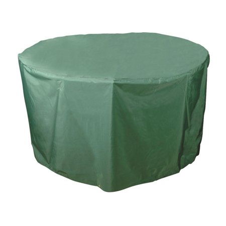Bosmere C540 Round Table Without Chairs Cover - 40 diam. in. - Light Green (big green egg bbq table cover)