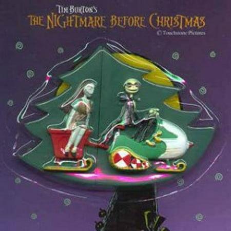 Nightmare Before Christmas Jack Skellington & Sally Puzzle Magnet Set