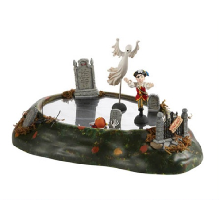 Dept 56 Halloween Village Ghost In The Graveyard Retired 4020260](Village Life Game Halloween)