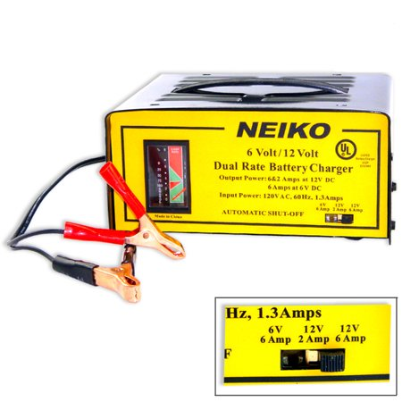 12 Volt Battery Charger Car Truck Auto Charging 6V 12V 6 12 Volt (Car 12 Volt Battery Charger)