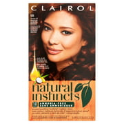 Clairol Natural Instincts Hair Color, 22 Medium Auburn Brown, 1 Kit
