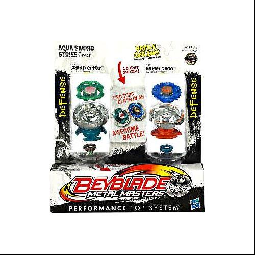 Beyblade Metal Masters Aqua Sword Strike 2-Pack BB82B