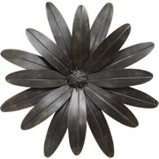 Stratton Home Decor Industrial Flower Wall Sculpture