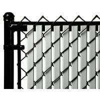 Gray 5ft Tube Slat for Chain Link Fence