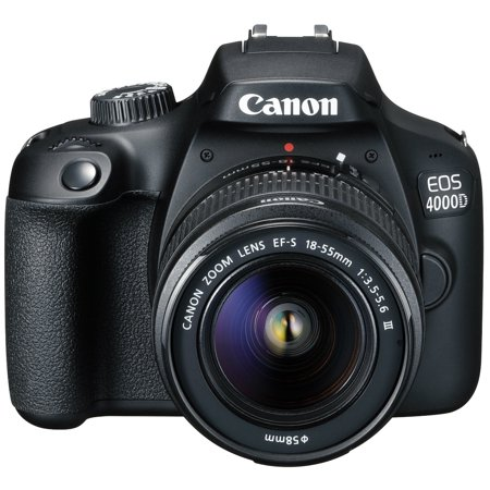 Canon EOS 4000D with EF-S 18-55mm III Lens Digital SLR Cameras from USA
