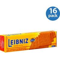 Leibniz Fine European Butter Biscuits, 7 oz (Pack of 16)