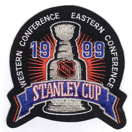 1999 NHL Stanley Cup Final Jersey Jersey Patch Dallas Stars vs. Buffalo Sabres