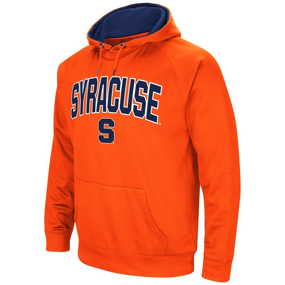 Mens Syracuse Orange Fleece Pull-over Hoodie by Colosseum