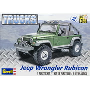 Plastic Model Kit Jeep Wrangler Rubicon 1:25