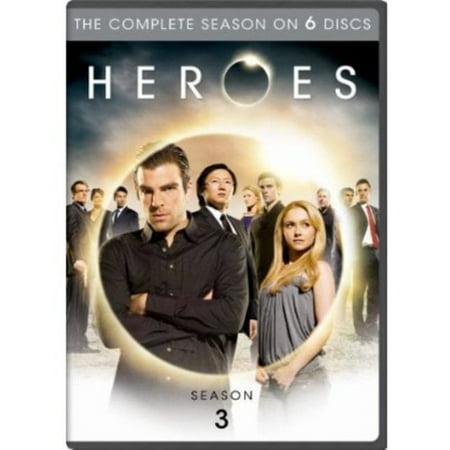 Heroes  Season Three  Anamorphic Widescreen