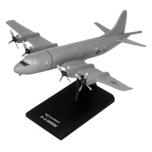 Daron Worldwide P-3C Orion (Low-vis Gray) Model Airplane
