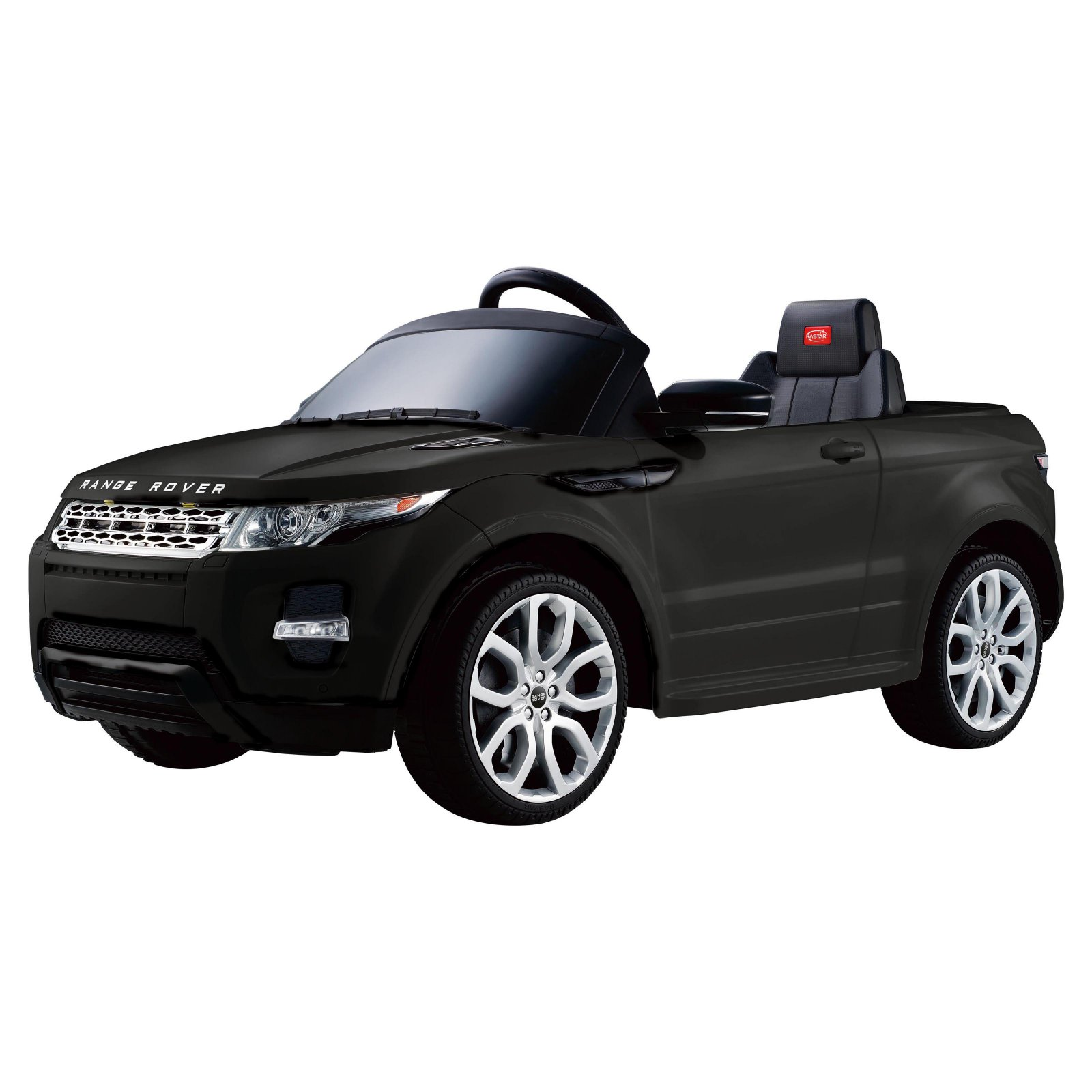 Range Rover Evoque 12V Ride-On, Black