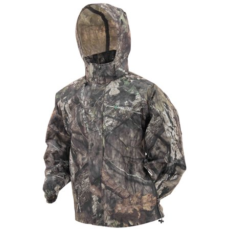 - Frogg Toggs Pro Action Camo Rain Jacket Mossy Oak Break-Up Country Camo (Brown, Small)