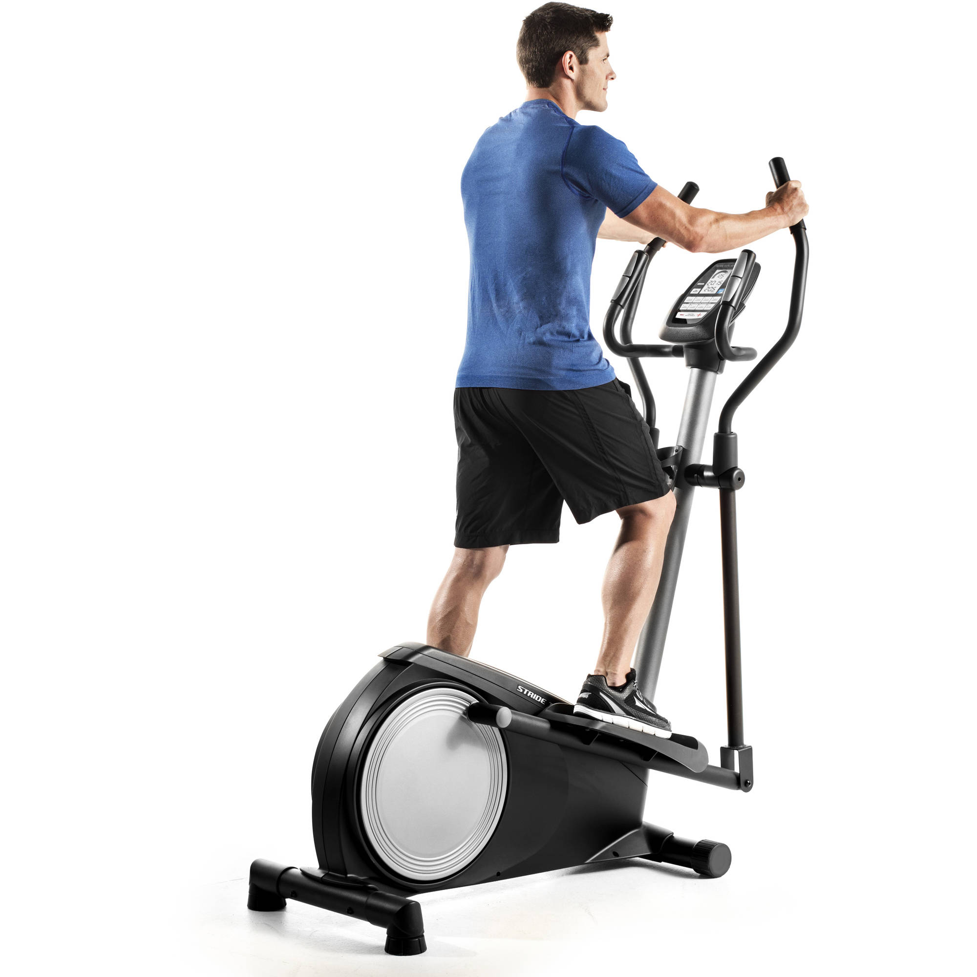 Gold's Gym Stride Trainer 380 Compact Elliptical Machine