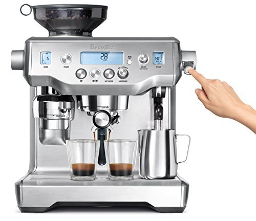 Click here to buy Breville BES980XL Oracle Espresso Machine, Silver by Breville.