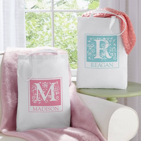 Personalized Initial Tote bag](Initial Tote Bags)