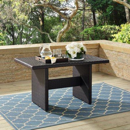 Bay Isle Home Keyshawn Folding Wicker Coffee Table ()