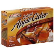 Alpine Drink Mix, Spiced Apple Cider, 7.4 Oz, 12 Count