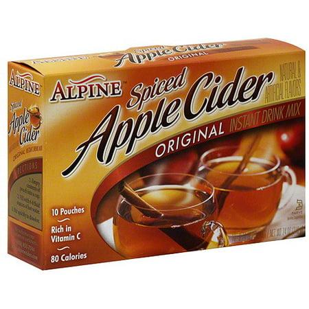 Alpine Spiced Apple Cider Drink Mix  7 4 Oz  Pack Of 12