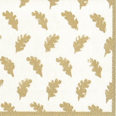 Cocktail Napkins Party Supplies Entertaining Fall Wedding Fall Decorating Ideas Leaves Gold Pk 20, 15 hand towels or guest towels for bathroom decor..., By Caspari - Low Cost Halloween Decorating Ideas