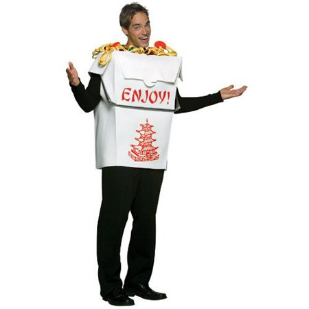 Chinese Take Out Girl Halloween Costume (Chinese Take Out Costume)