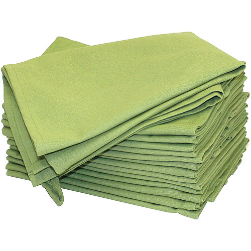 Aunt Martha's 2-Pack Dish Towels, 18 by 28-Inch, Avocado Green