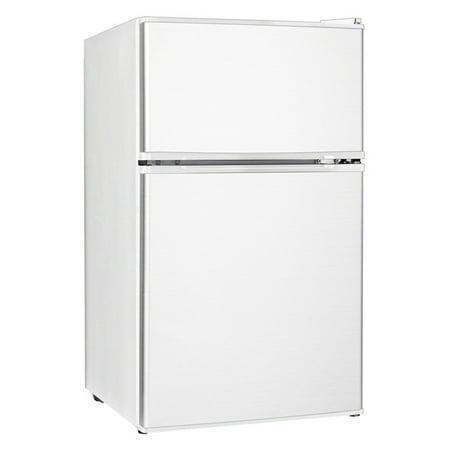 Equator Midea 3.1 cu.ft. E-Star Two Door Compact Refrigerator with Reversible Door, White