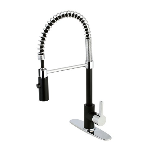 Faucetaire Ls8777ctl Continental Kitchen Faucet With Pull Down