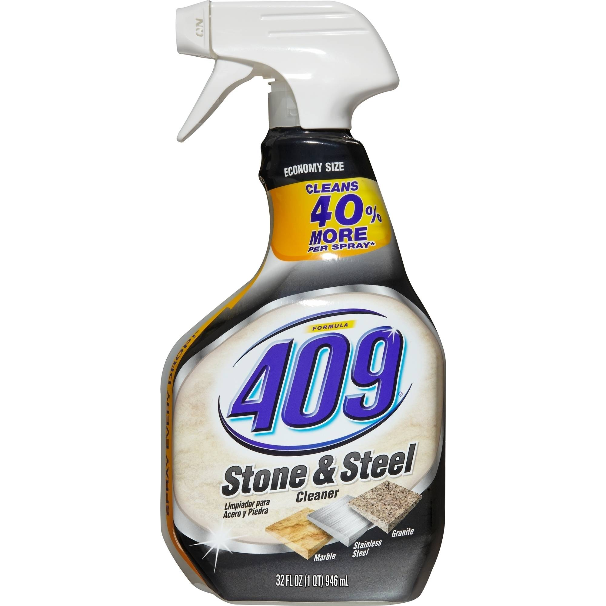 Formula 409 Stone and Steel Cleaner Spray Bottle, 32 Fluid Ounces