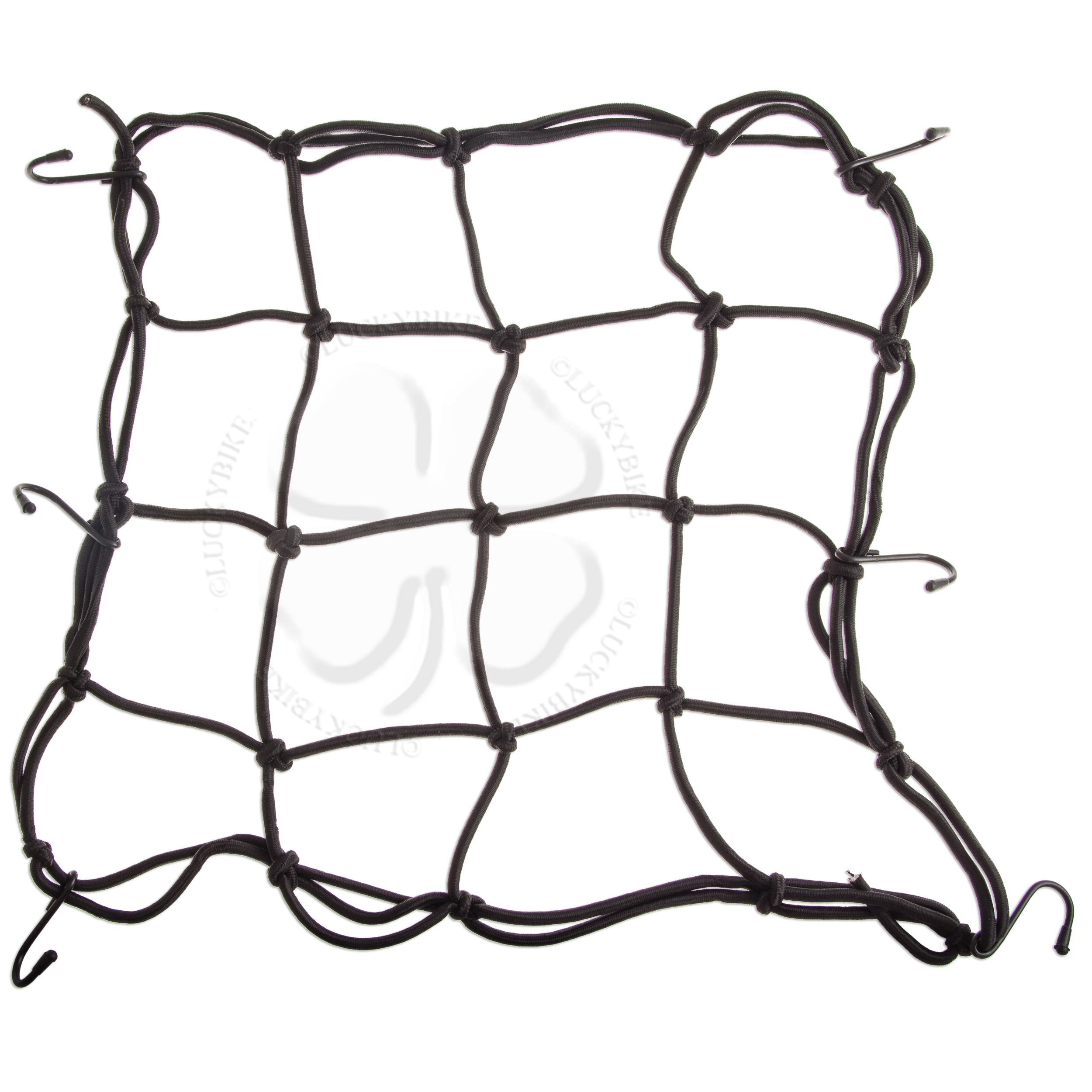 SMALL MOTORCYCLE CARGO HOLD DOWN HOLDING NET NETTING SET ATV BUNGEE BUNGIE CORD