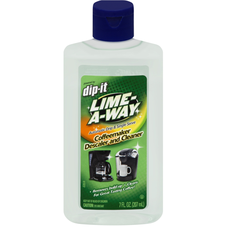 Lime-A-Way Dip-It Coffeemaker Cleaner, 7oz Bottle, Descaler & Cleaner for Drip & Single Serve Coffee
