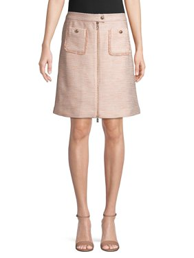 d887b70100a0 Product Image Classic Textured Skirt. Product TitleKarl Lagerfeld ParisClassic  Textured Skirt