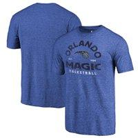 Orlando Magic Fanatics Branded Vintage Arch Tri-Blend T-Shirt - Royal