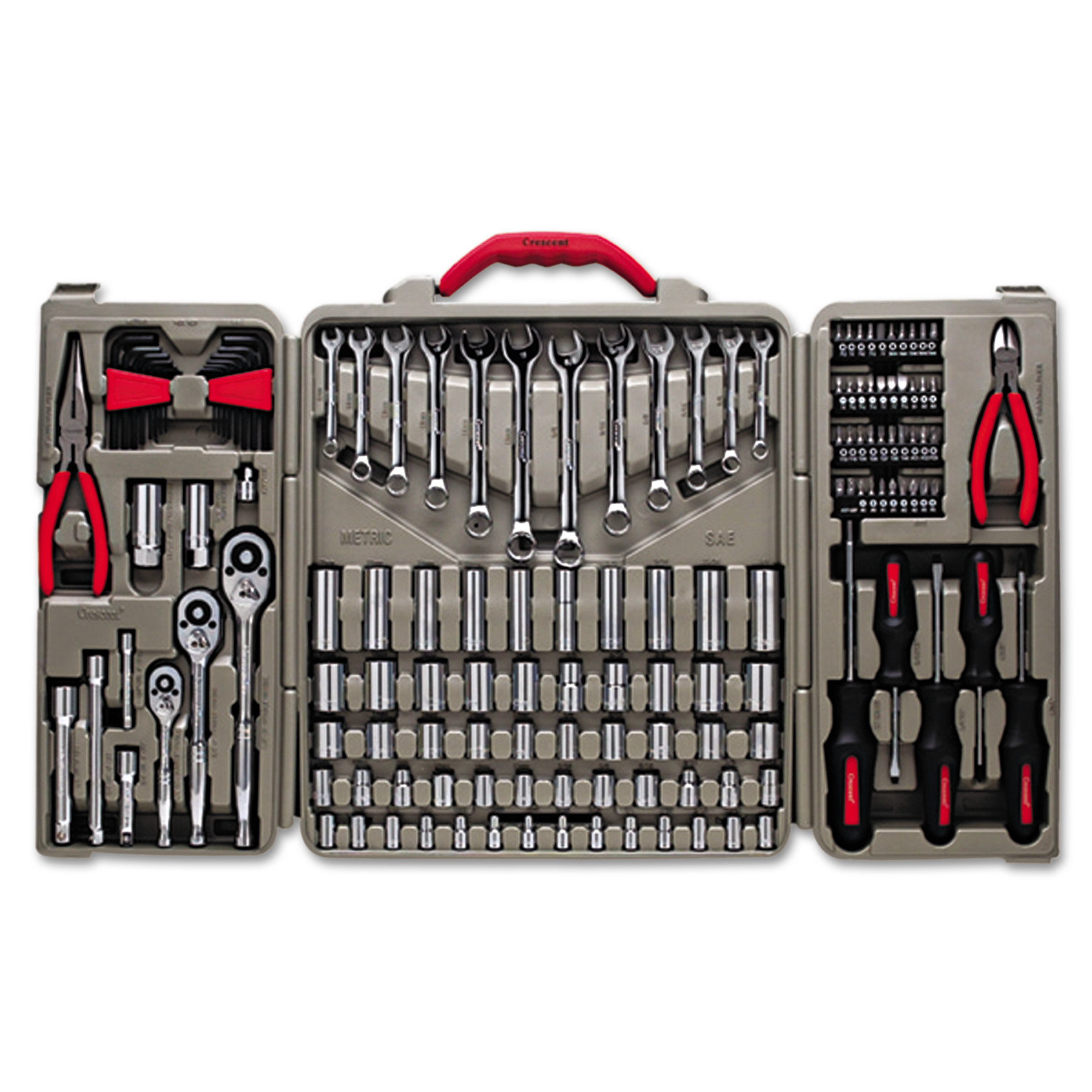 Crescent 148-Piece Professional Tool Set by Apex Tool Group