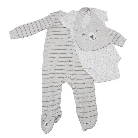 86e73765a Carter s - Carters 3-Piece Baby Boys 9 Months Pajama Set   Bib
