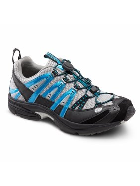 1a6cd91973123 Product Image Dr. Comfort Performance Men s Athletic Shoe  6 Medium (B D)  Metallic