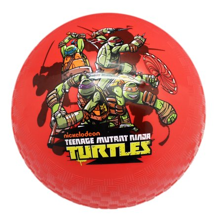 Teenage Mutant Ninja Turtles Red Colored Inflatable Bouncy Ball (Ships Deflated)](Red Bouncy Ball)