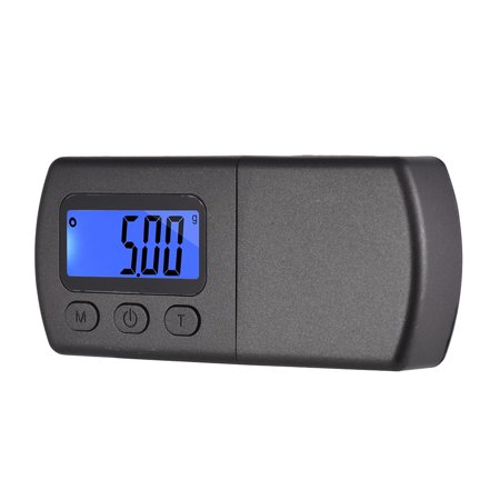 Mini Turntable Phono LP Stylus Force Scale Gauge ±0.01g Accuracy LCD Display with One 5g Weight Storage Bag - image 2 of 7