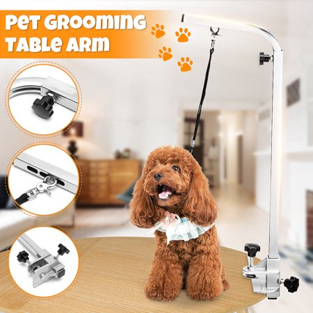 Foldable Portable Adjustable Arm Support For Pet Dog Grooming Bath Table Desk - image 8 of 8