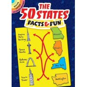 Dover Little Activity Books: The 50 States Facts & Fun (Paperback)