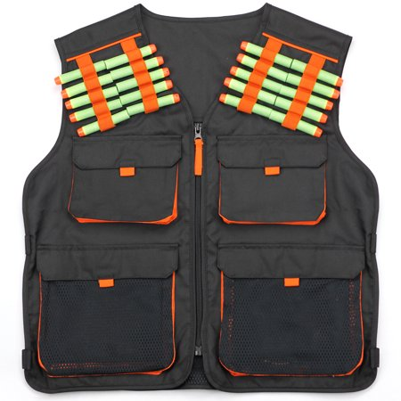 Hero Blasters Kids Tactical Nerf Vest for Nerf N-strike Elite, Mega & Rival Balls for Boys -