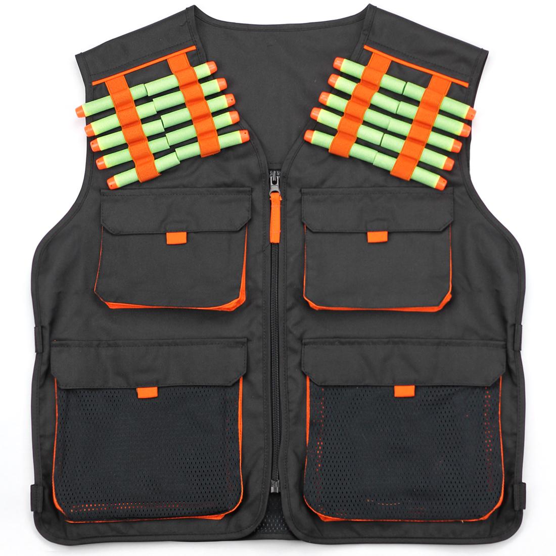 Hero Blasters Kids Tactical Nerf Vest for Nerf N-strike Elite, Mega & Rival Balls for Boys Kids