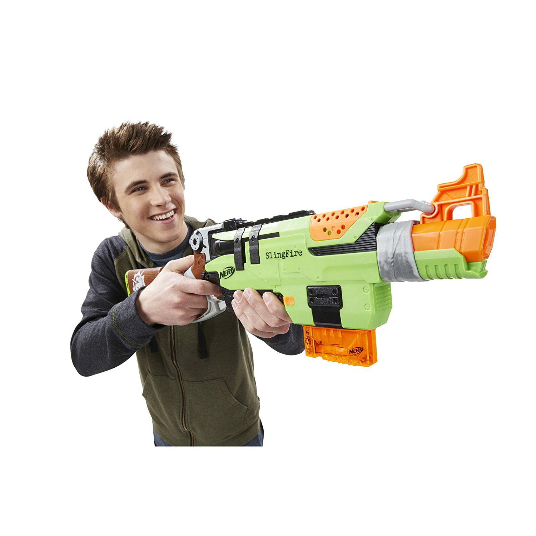 06a007b3ba Nerf Zombie Strike SlingFire - Walmart.com