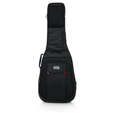 Deluxe Acoustic Guitar Case - Gator Cases Pro-Go Deluxe Acoustic Guitar Gig Bag