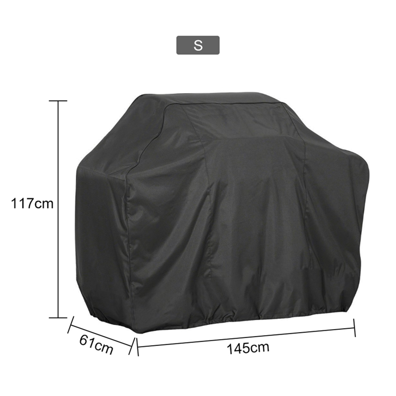 BBQ Gas Grill Cover 57/'/' Barbecue Waterproof Dust Proof Heavy Duty Protection L