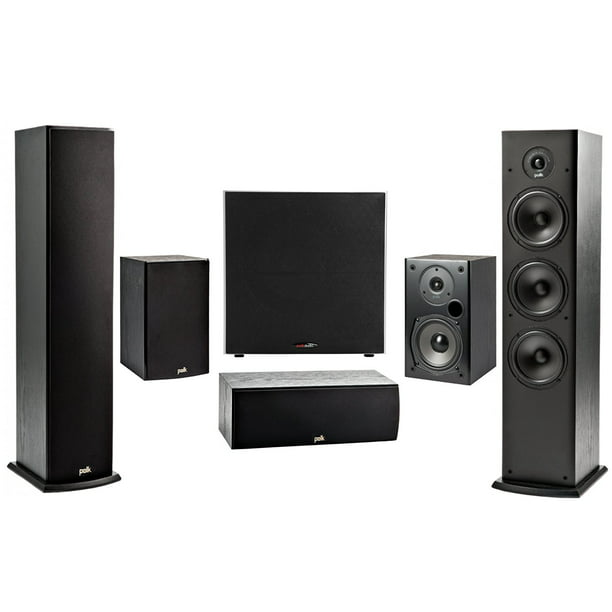 Polk 5 1 Channel 4k 3d A V Surround Sound Multimedia Home Theater Speaker System Walmart Com Walmart Com