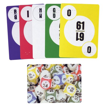 Walmart Call In Number >> Bingo Call Number Playing Cards With Braille