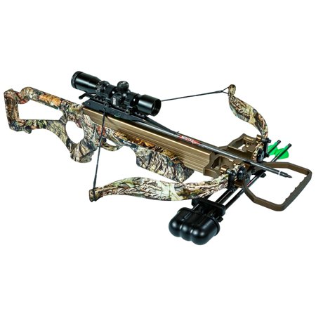 Excalibur Micro 308Short Crossbow Package, Mossy Oak Break-Up (Best Excalibur Crossbow For The Money)
