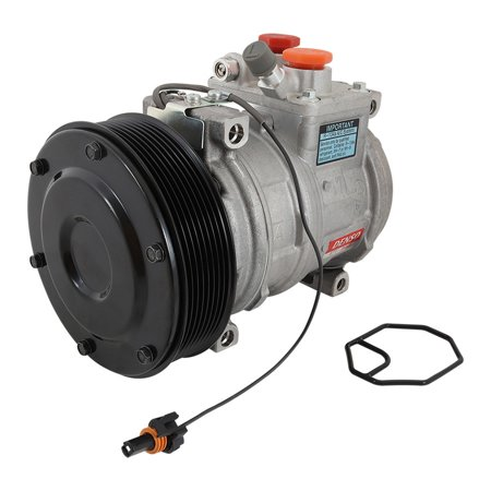 Complete Tractor AC compressor 1406-7040 for John Deere 9320T, 9400, 9400T, 9420, 9420T, 9520T, 9620, 9620T, 9976 Cotton Picker, CT322 Compact Track Loader, CT332 Compact Track Loader RE69716 TY24304 (John Deere 9620)